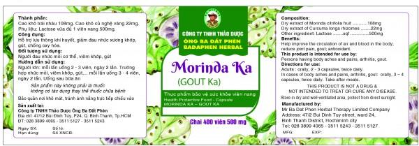 MORINDA KA (GOUT KA)